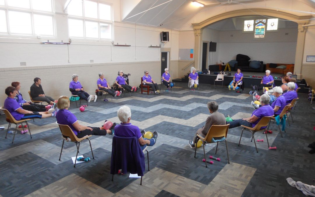 Sit and Be Fit Chair Classes